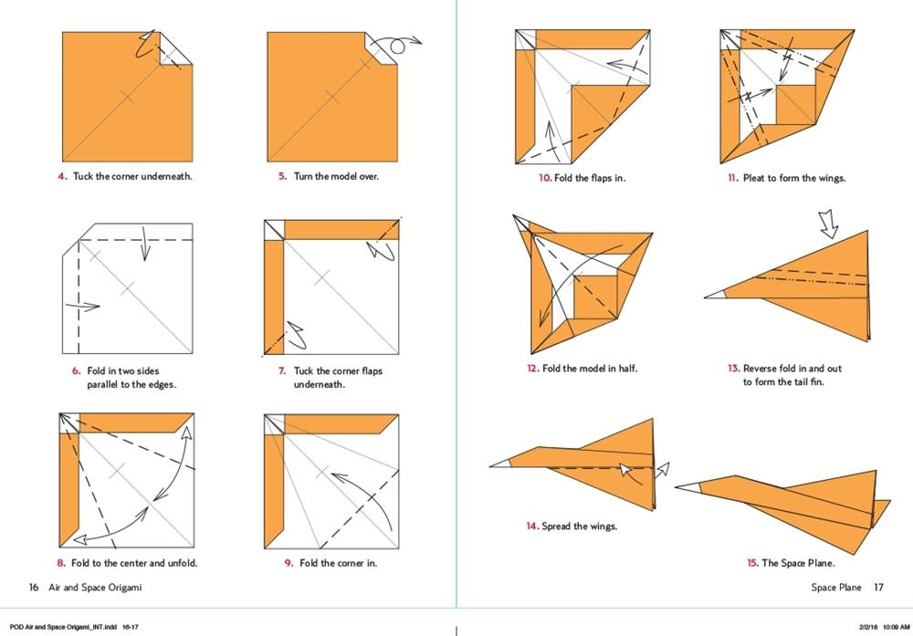 Tuttle Publishing Air and Space Origami Kit
