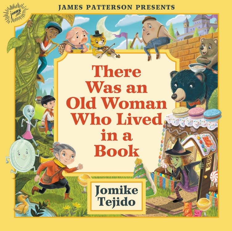 jimmy patterson There Was an Old Woman Who Lived in a Book