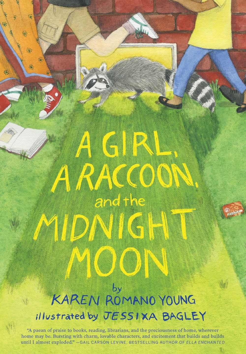 Chronicle Books A Girl, a Raccoon, and the Midnight Moon