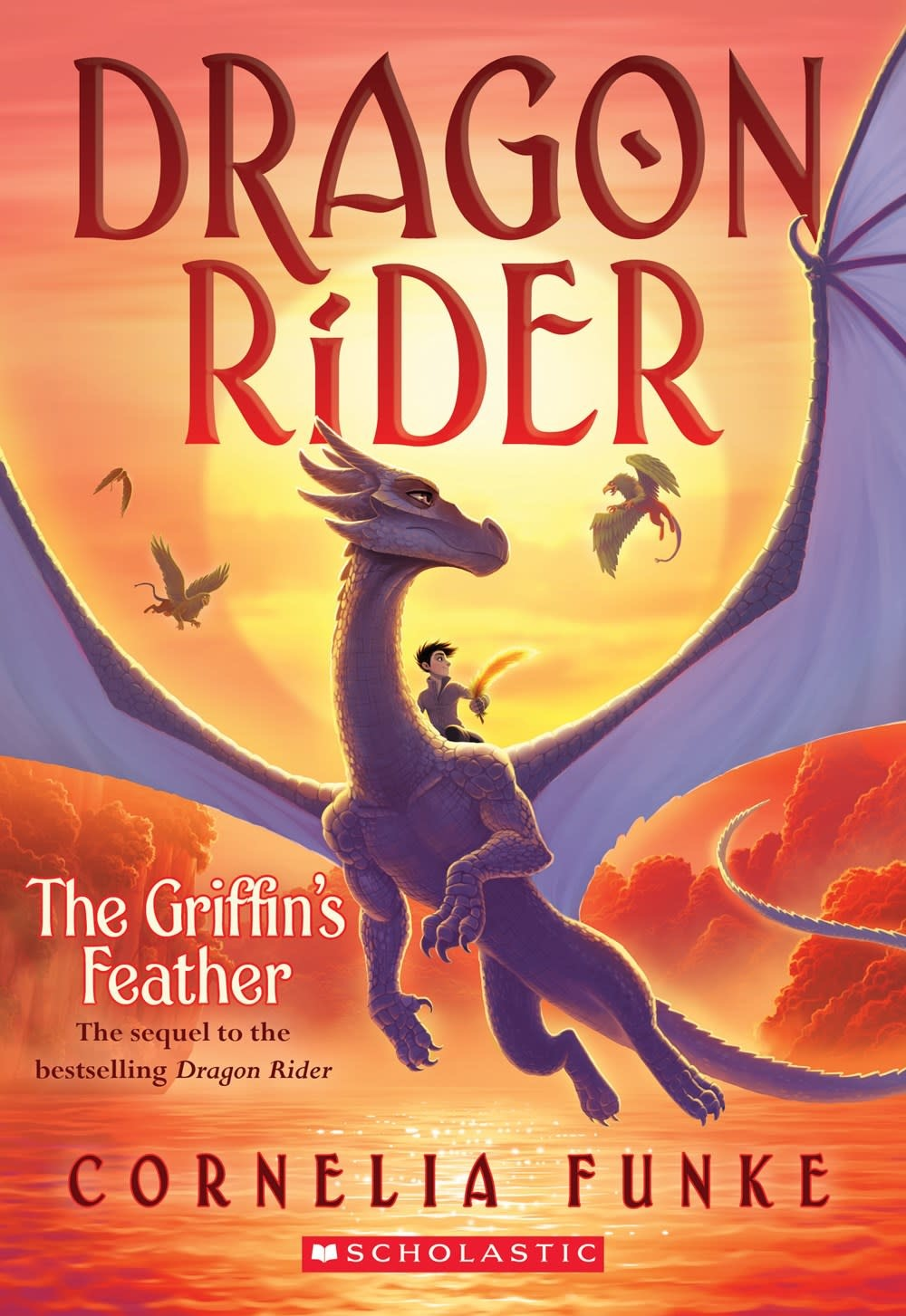 Chicken House Dragon Rider 02 The Griffin's Feather