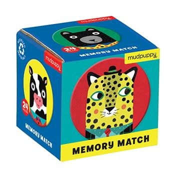 Mudpuppy Animal Friends Mini Memory Match