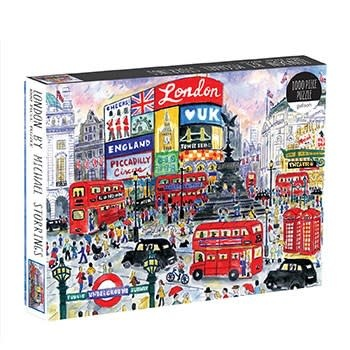 Galison London By Michael Storrings 1000 Piece Puzzle