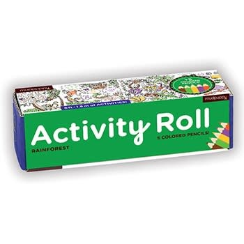 Mudpuppy Rainforest Activity Roll