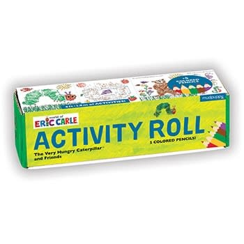Mudpuppy World of Eric Carle, The Very Hungry Caterpillar and Friends Activity Roll