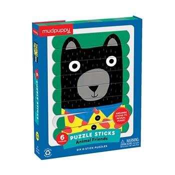 Mudpuppy Animal Friends Puzzle Sticks