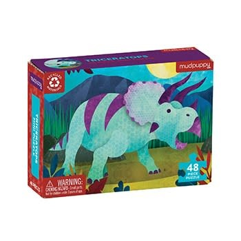 Mudpuppy Triceratops Mini Puzzle
