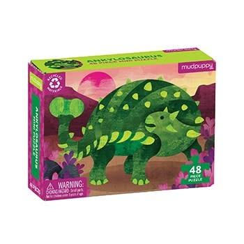Mudpuppy Ankylosaurus Mini Puzzle