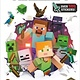 Random House Books for Young Readers Minecraft Official Survival Sticker Book (Minecraft)