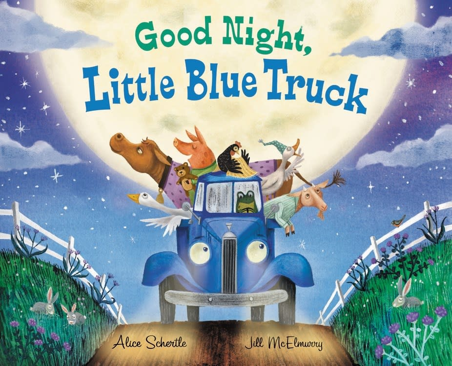 HMH Books for Young Readers Little Blue Truck: Good Night, Little Blue Truck