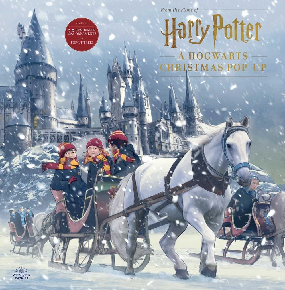 Insight Editions Harry Potter: A Hogwarts Christmas Pop-Up