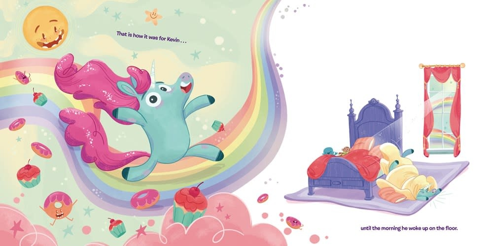 Dial Books Kevin the Unicorn: It's Not All Rainbows