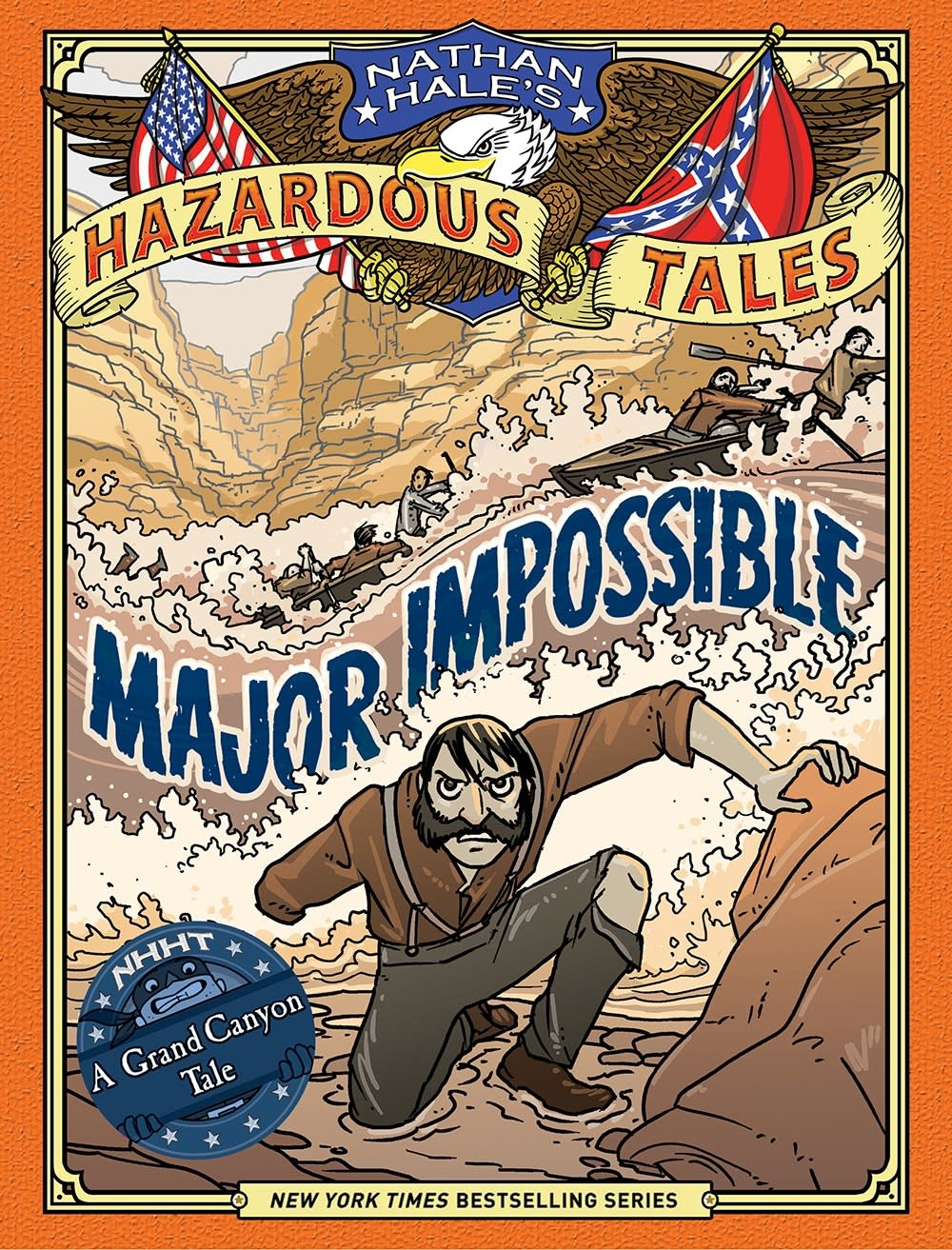 Amulet Books Nathan Hale's Hazardous Tales 09 Major Impossible
