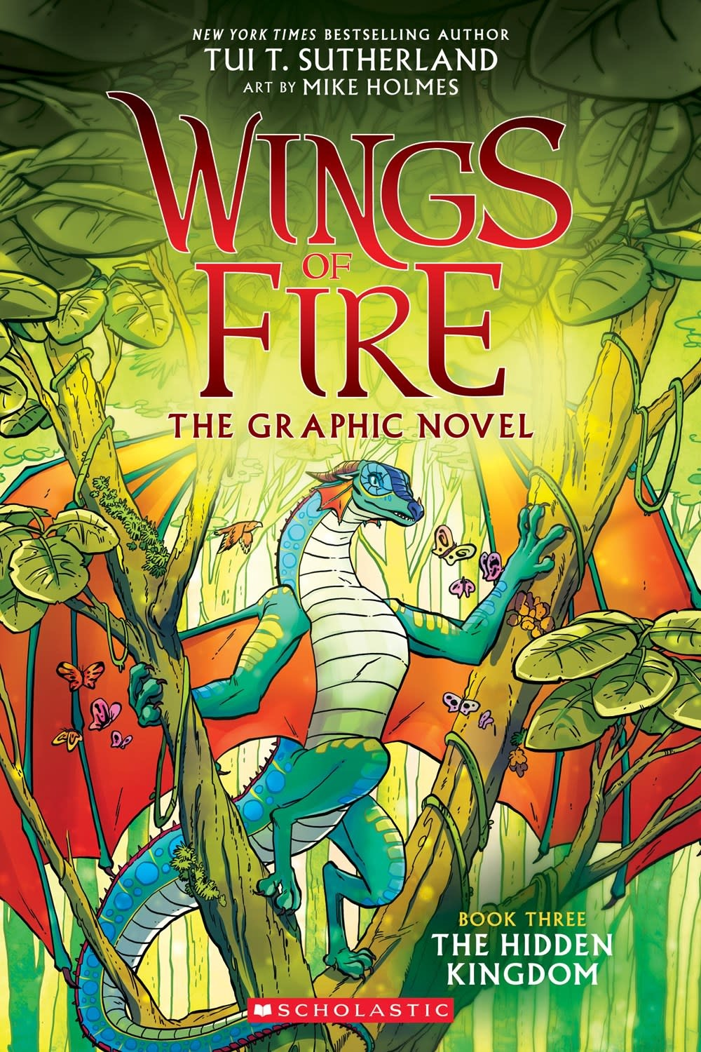 Graphix Wings of Fire 03 The Hidden Kingdom (Graphic Novel)