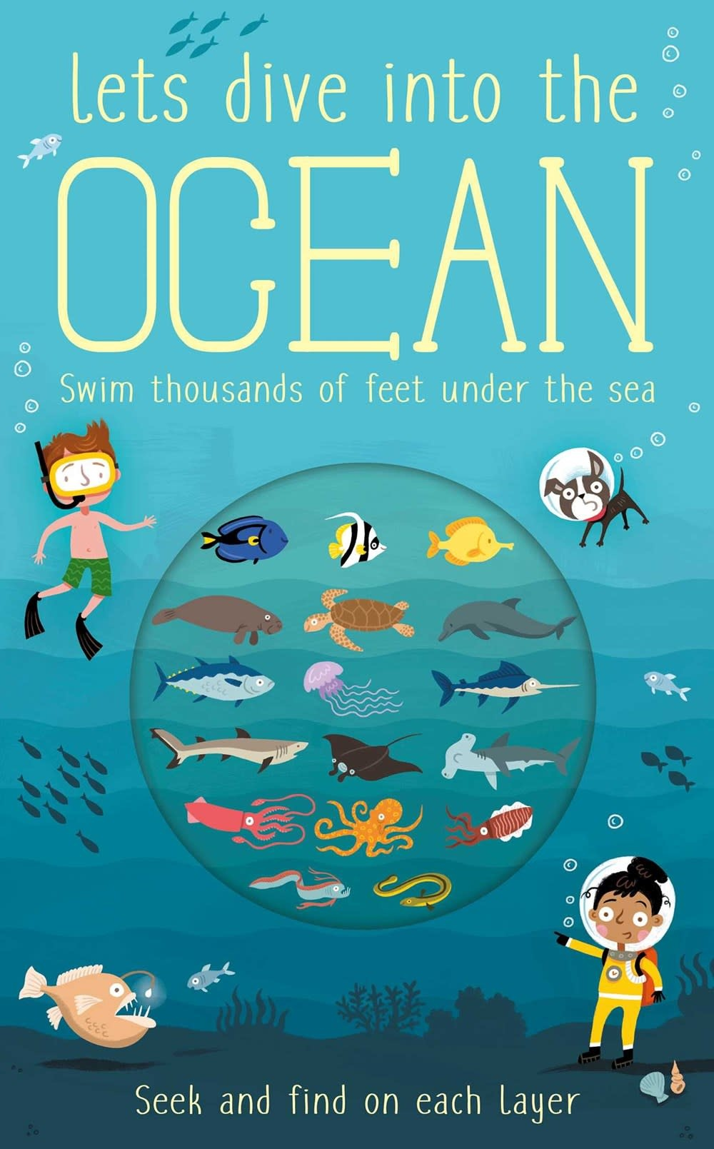 Silver Dolphin Books Let's Dive: Into the Ocean