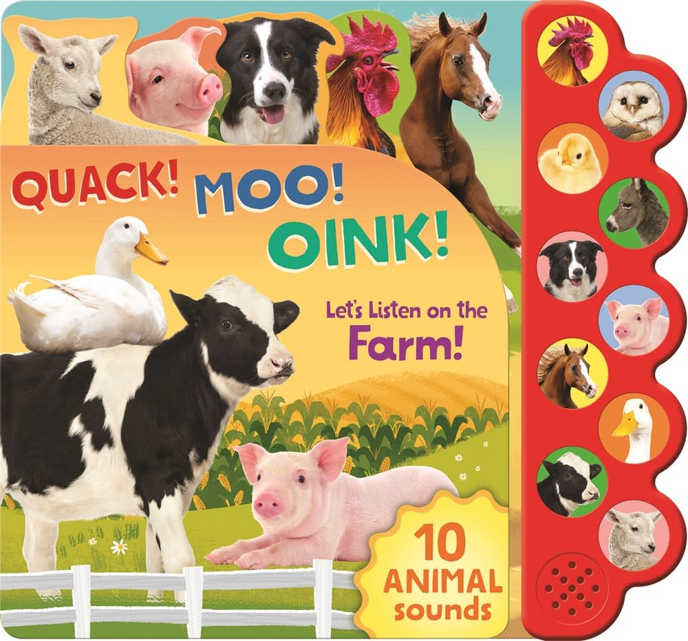 Parragon Quack! Moo! Oink! Let's Listen on the Farm!