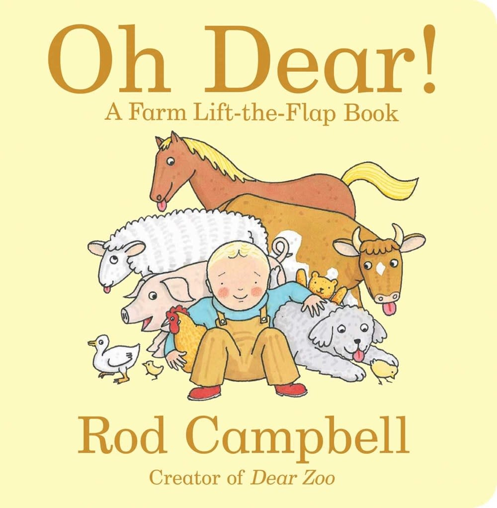 Little Simon Oh Dear!: A Farm Lift-the-Flap Book