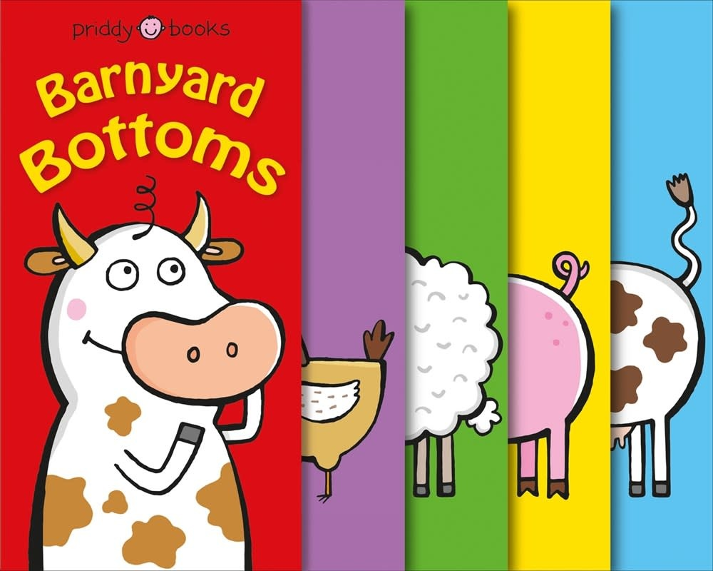 Priddy Books Funny Friends: Barnyard Bottoms (A Silly Seek-and-Find Book!)