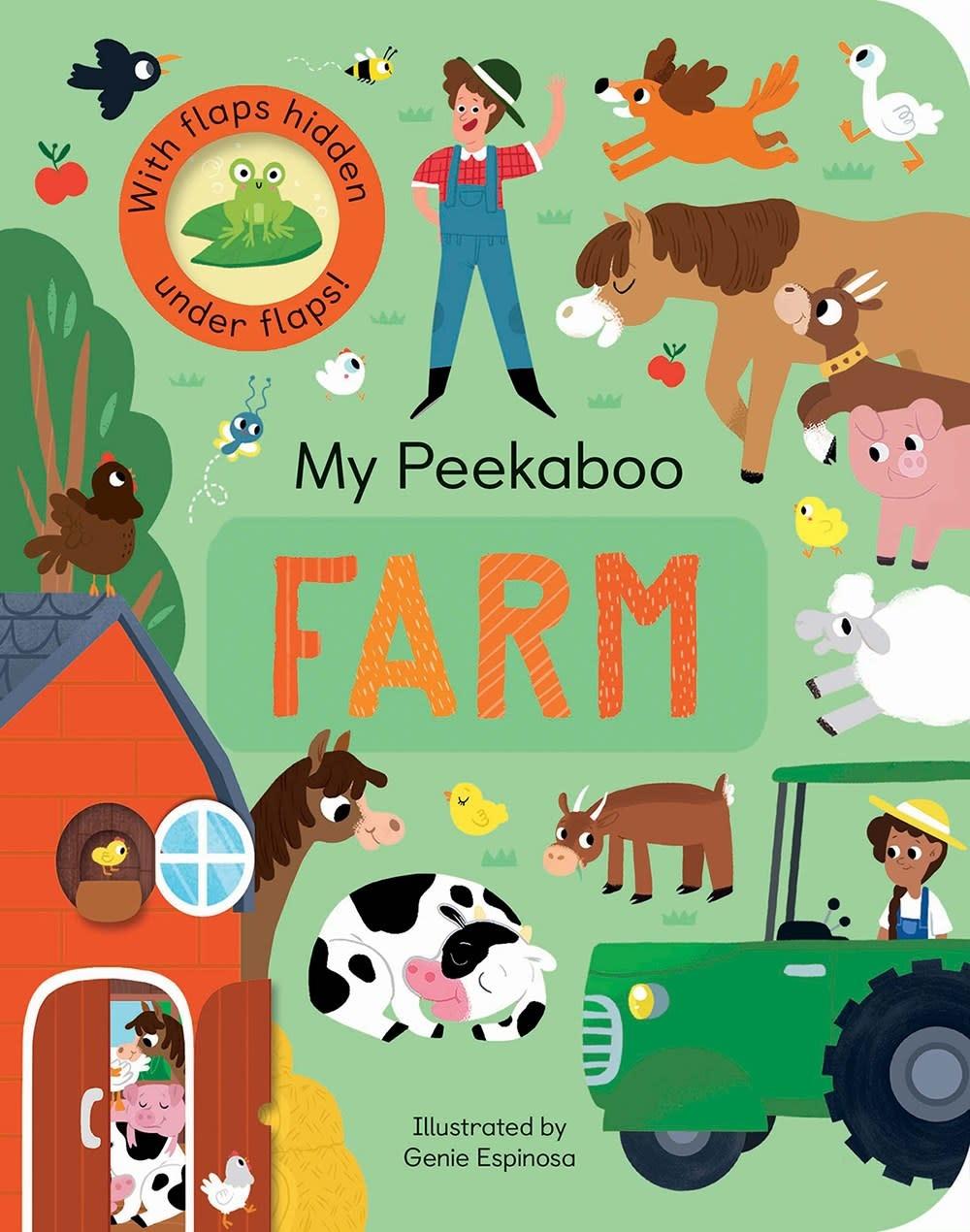 Tiger Tales My Peekaboo Farm