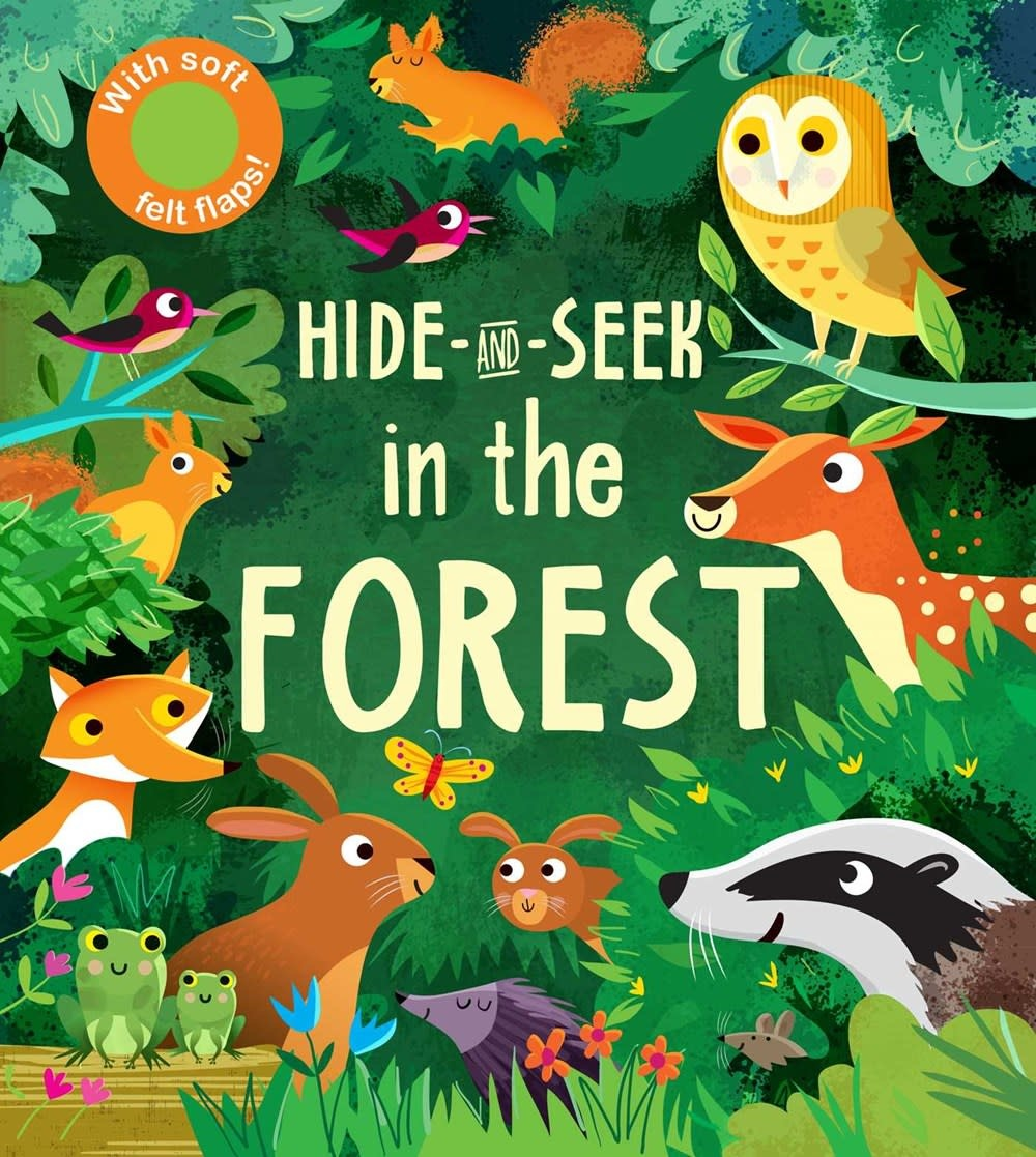 Silver Dolphin Books Hide-and-Seek: In the Forest