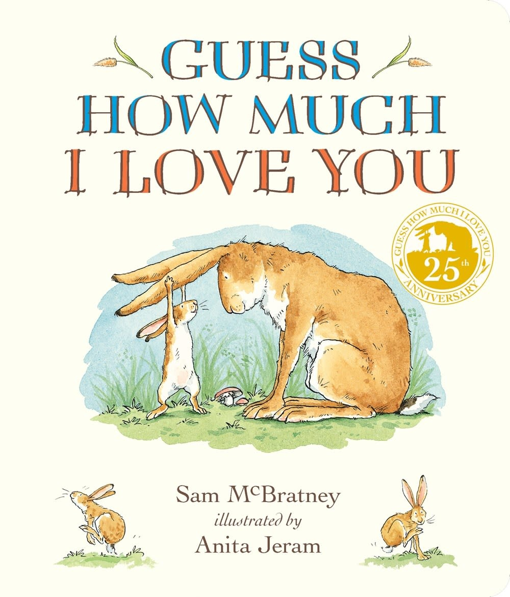 Candlewick Guess How Much I Love You (Padded Board Book)