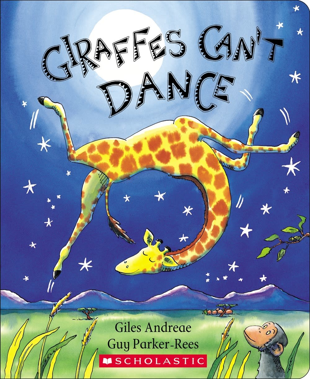 Cartwheel Books Giraffes Can't Dance