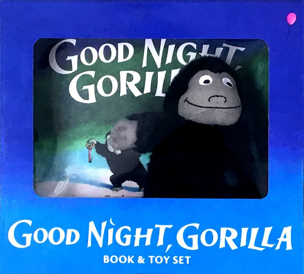 G.P. Putnam's Sons Books for Young Readers Good Night, Gorilla Gift Set (Book and Plush)