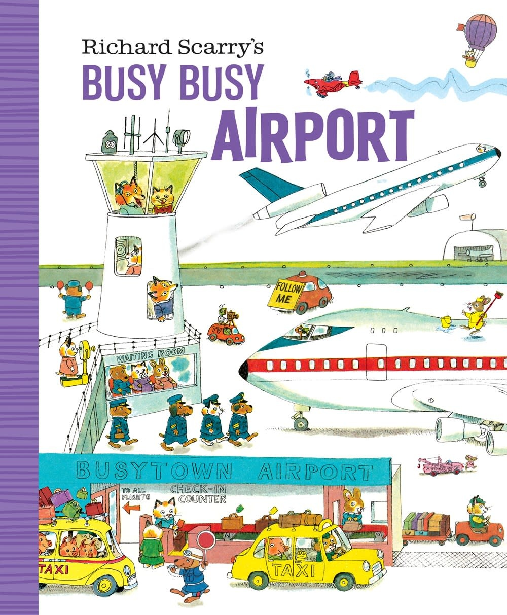 Golden Books Richard Scarry's Busy Busy Airport