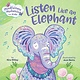 Rodale Kids Mindfulness Moments for Kids: Listen Like an Elephant (Board Book)