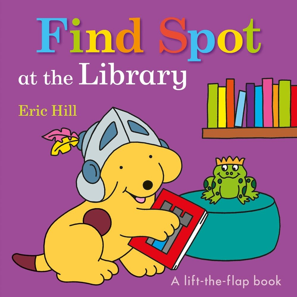 Warne Spot the Dog: Find Spot at the Library