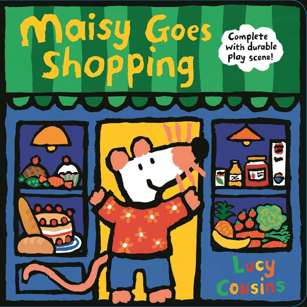 Candlewick Maisy Goes Shopping: Complete with Durable Play Scene