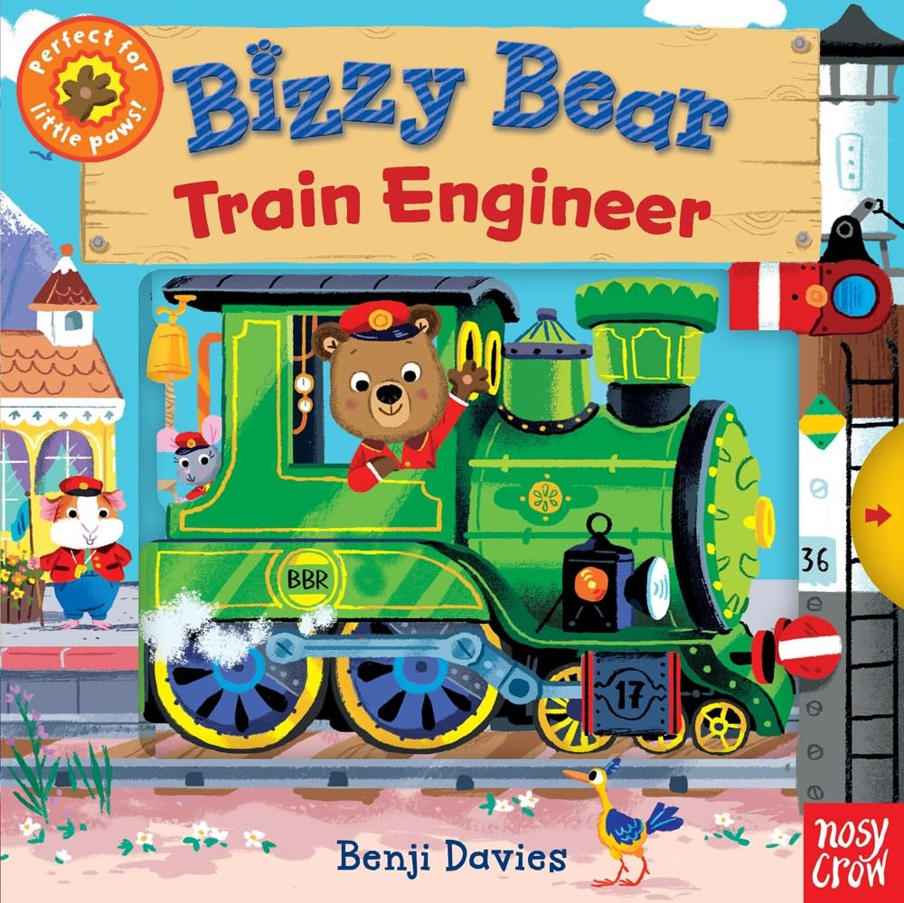 Nosy Crow Bizzy Bear: Train Engineer