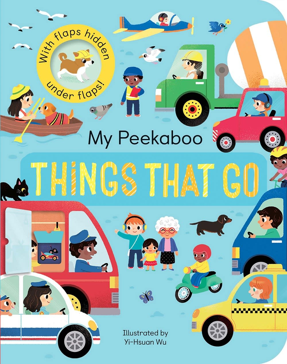 Tiger Tales My Peekaboo Things That Go