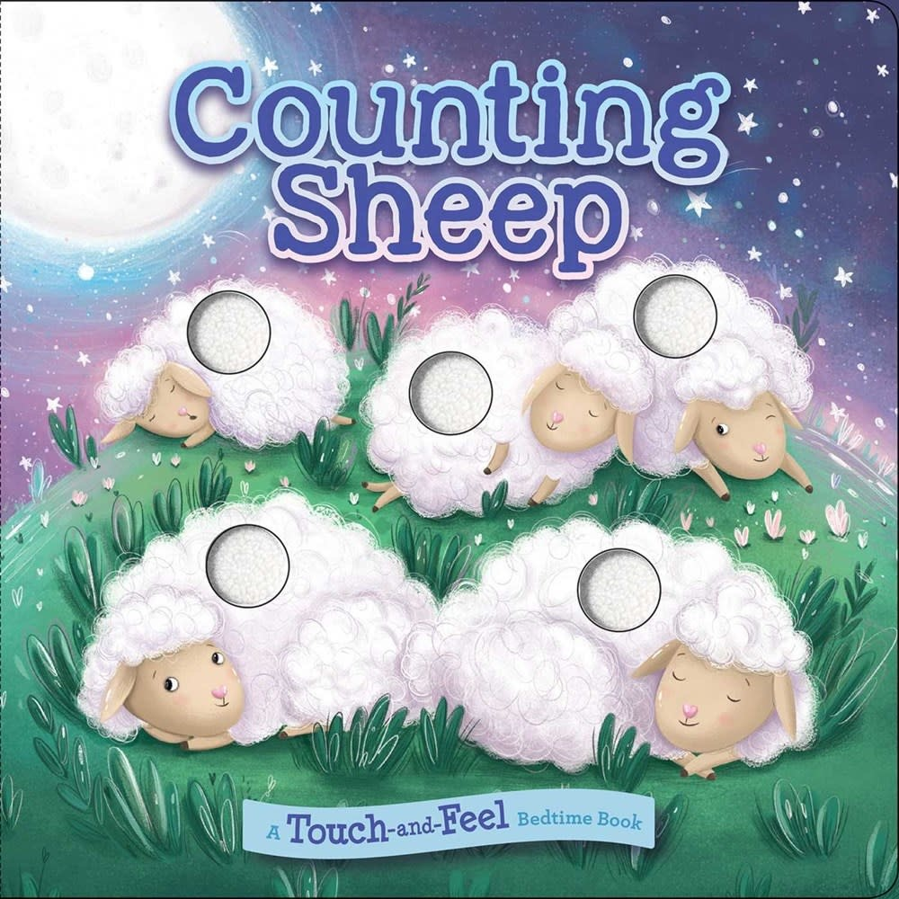 Silver Dolphin Books Counting Sheep: A Touch-and-Feel Bedtime Book