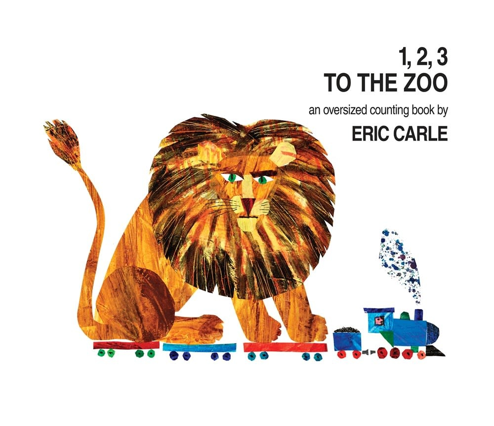 World of Eric Carle 1, 2, 3 to the Zoo: An Oversized Counting Board Book