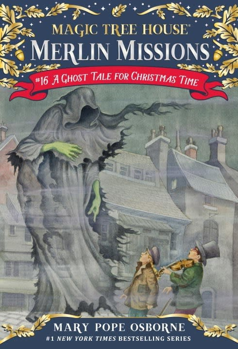 Random House Books for Young Readers Magic Tree House Merlin Missions 16 A Ghost Tale for Christmas Time