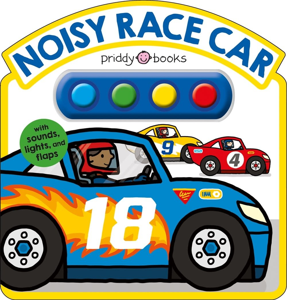 Priddy Books Noisy Race Car (Sound Book)