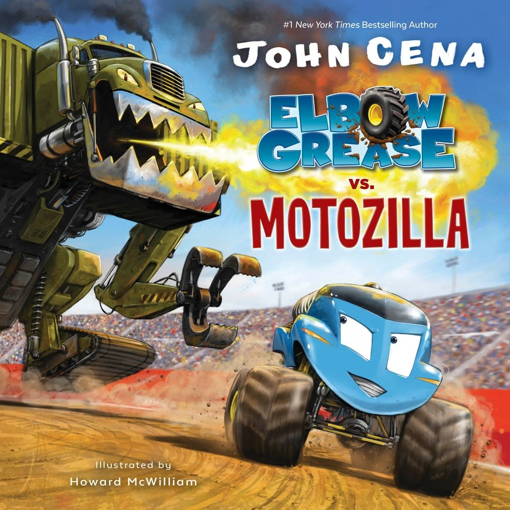Random House Books for Young Readers Elbow Grease vs. Motozilla