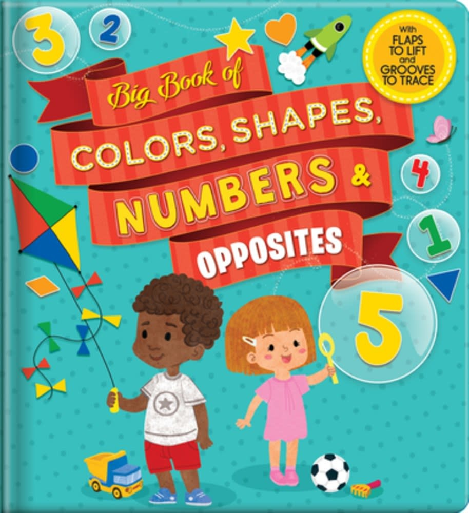 CrackBoom! Books Big Book of Colors, Shapes, Numbers & Opposites