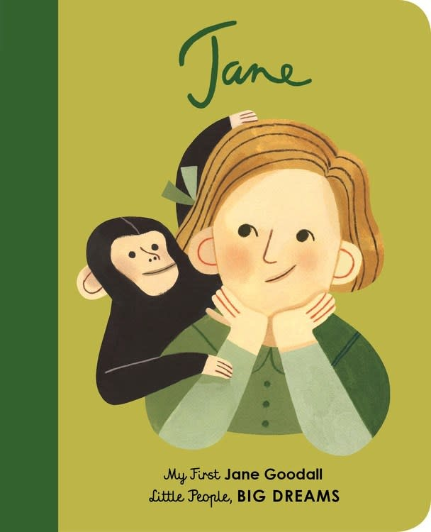 Lincoln Children's Books Little People, Big Dreams: Jane Goodall