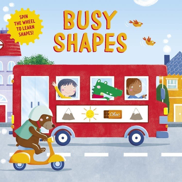 Clever Publishing Clever Wheels: Busy Shapes