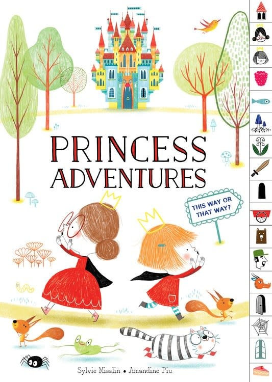 HMH Books for Young Readers Princess Adventures: This Way or That Way?