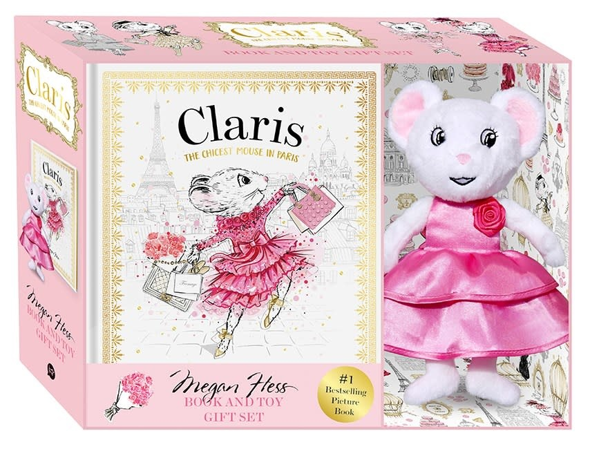 Hardie Grant Claris, the Chicest Mouse in Paris: Gift Set (Book and Plush)