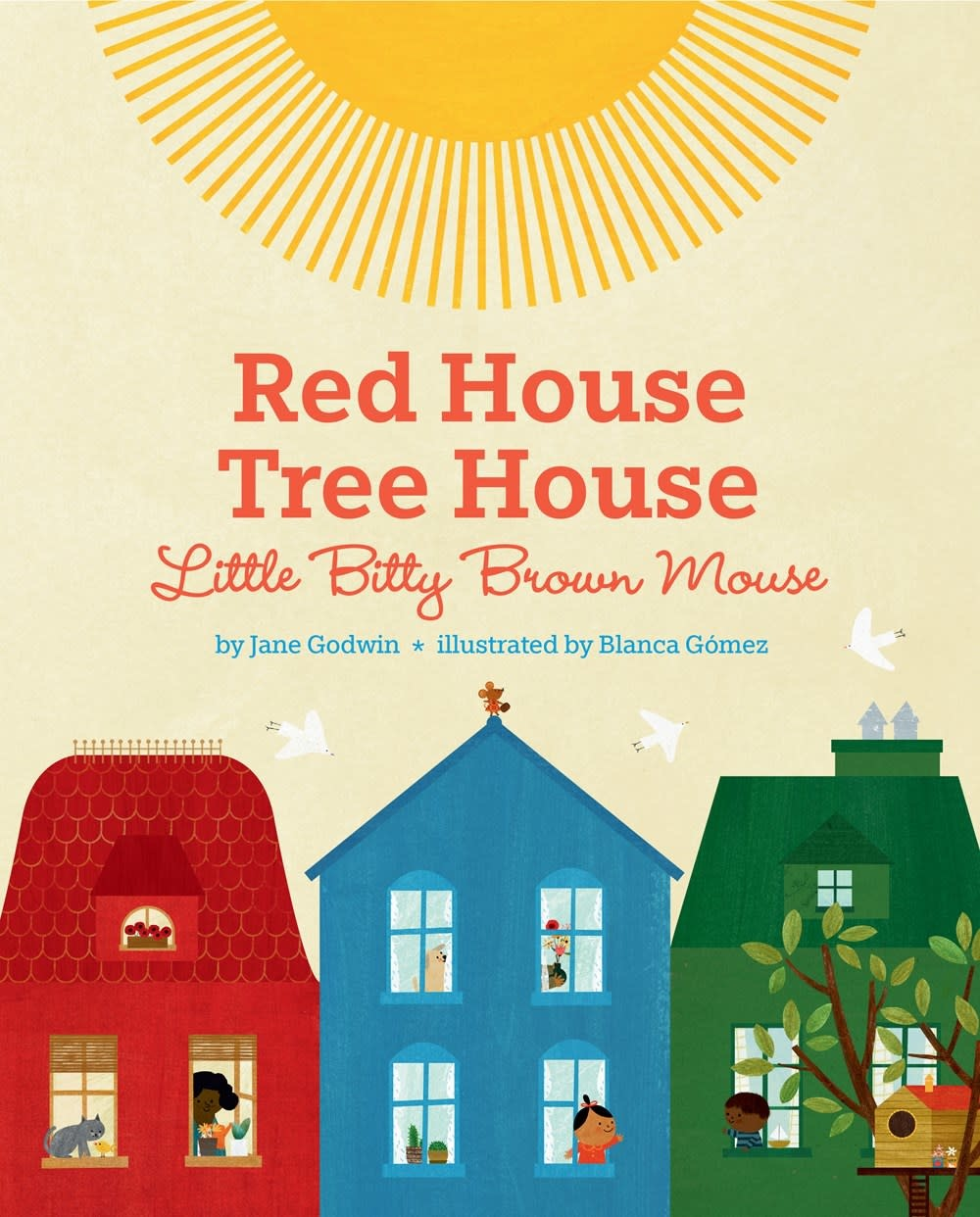 Dial Books Red House, Tree House, Little Bitty Brown Mouse