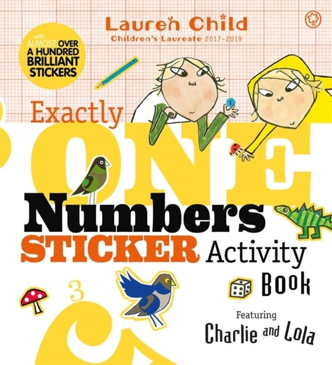 Orchard Books Charlie and Lola: Exactly One Numbers Sticker Activity Book