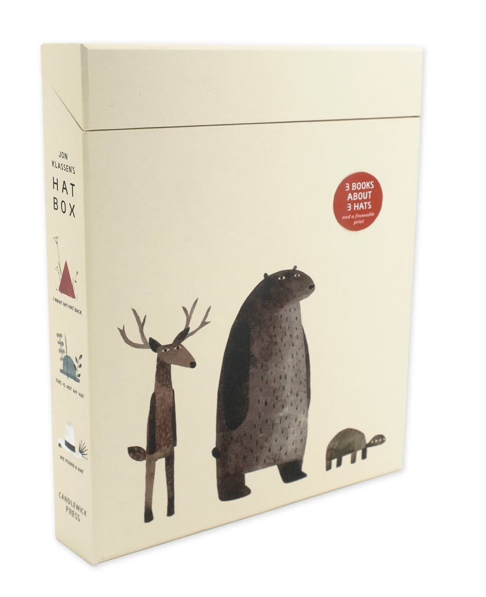 Candlewick Jon Klassen's Hat Box Boxed Set (3 Books)