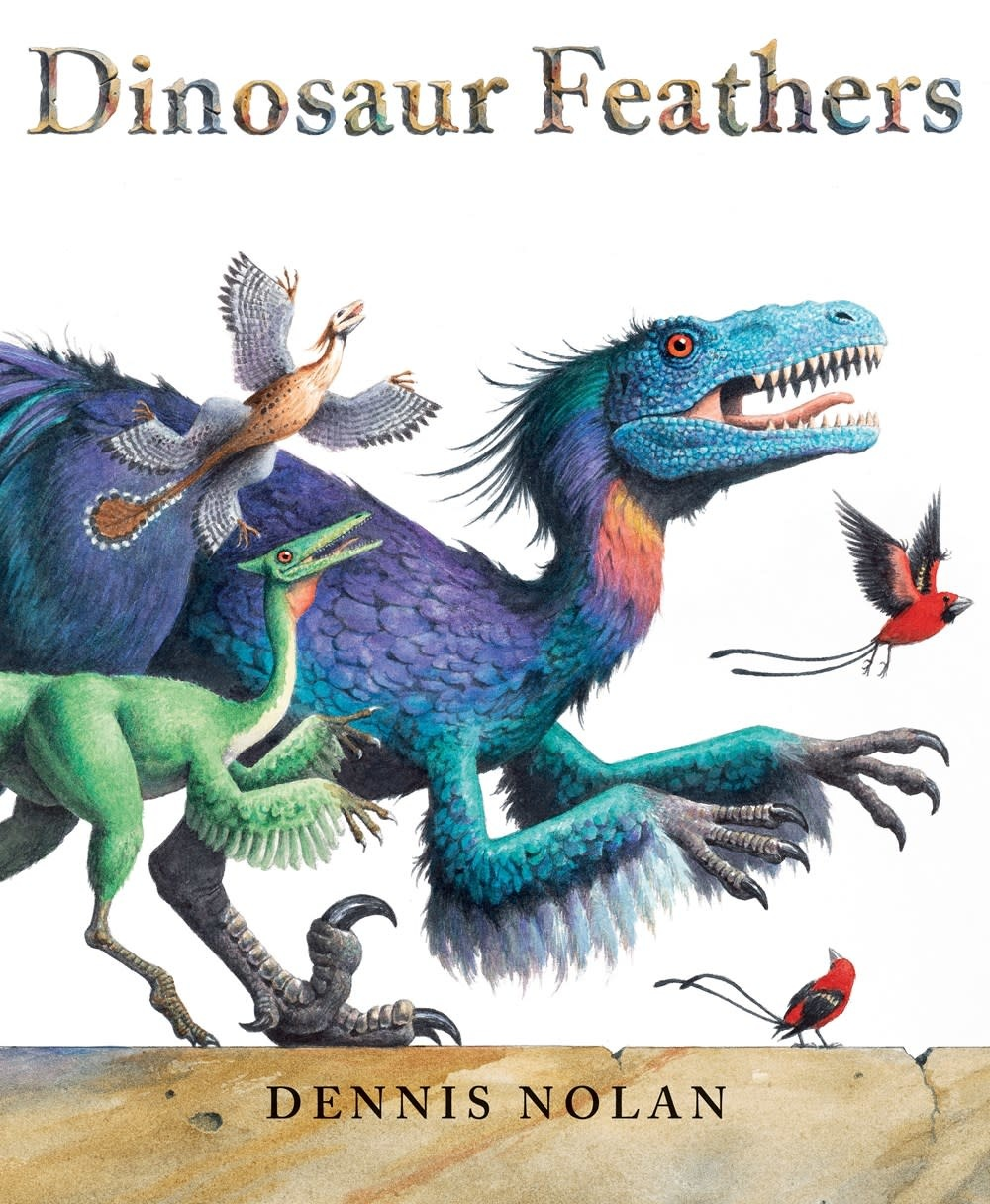 Neal Porter Books Dinosaur Feathers