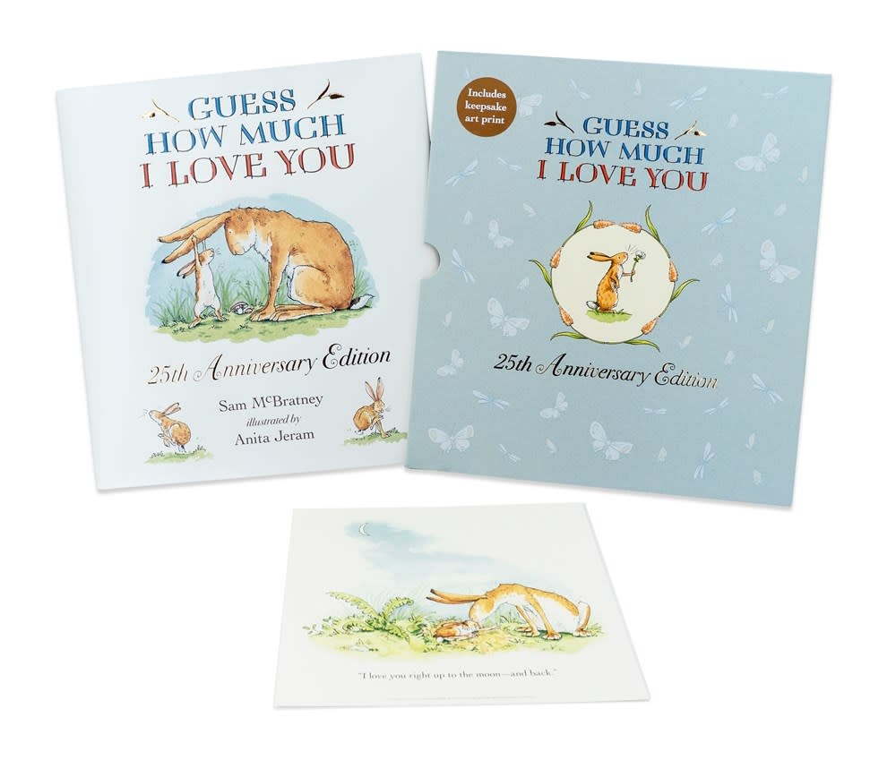 Candlewick Guess How Much I Love You (25th Anniversary Slipcase Ed.)