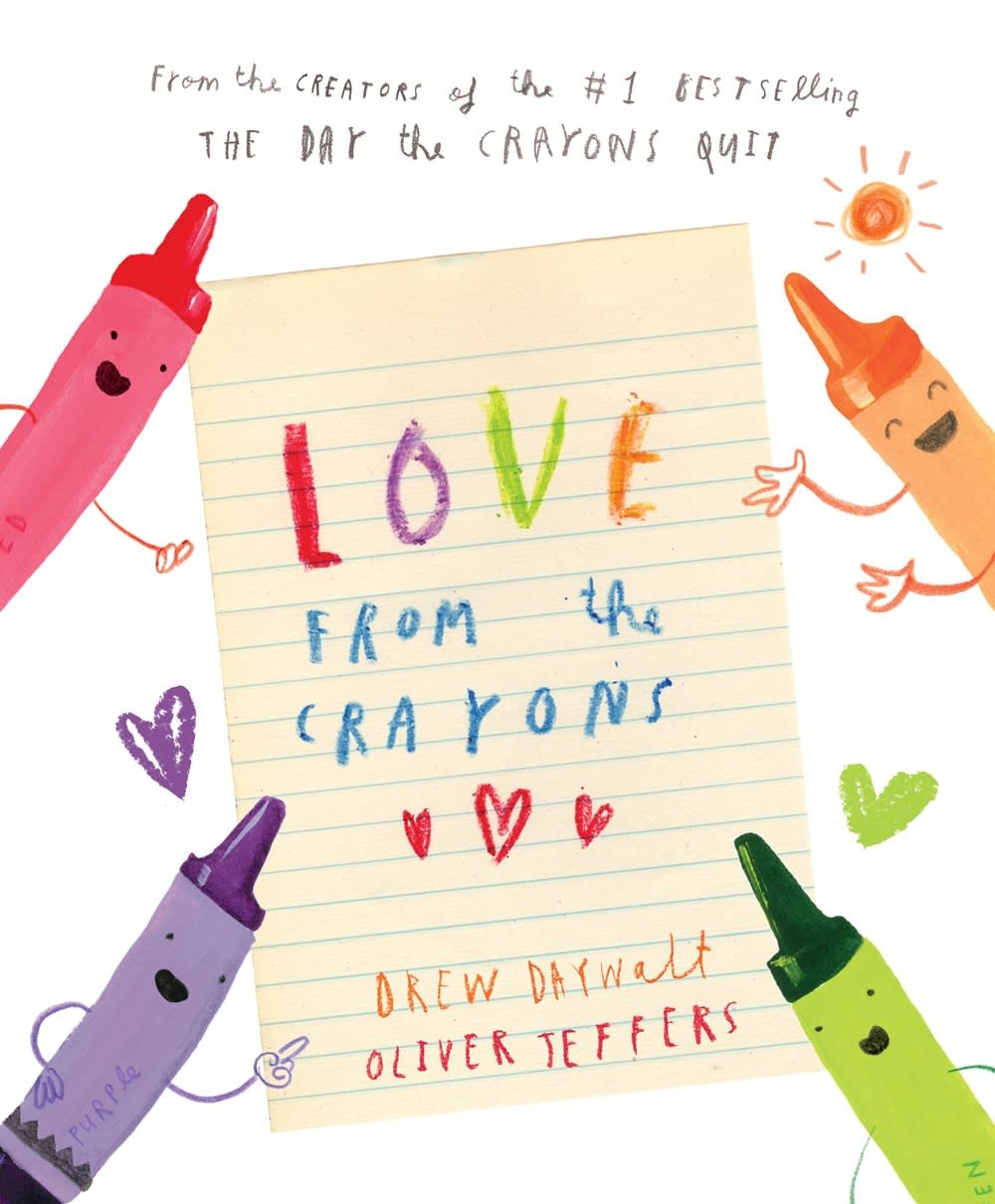 Penguin Workshop The Crayons: Love from the Crayons