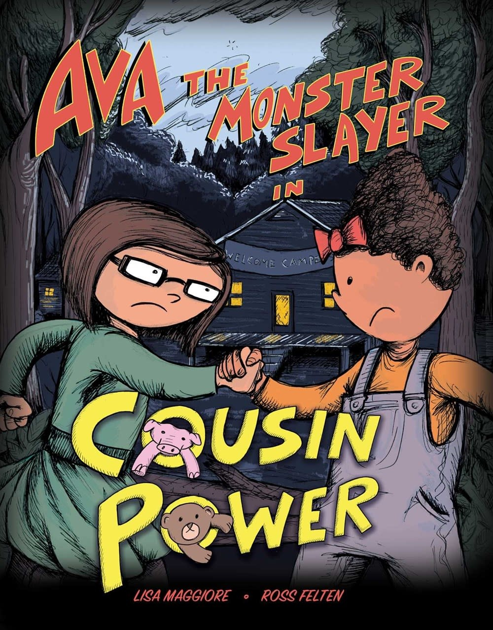 Sky Pony Ava the Monster Slayer: Cousin Power
