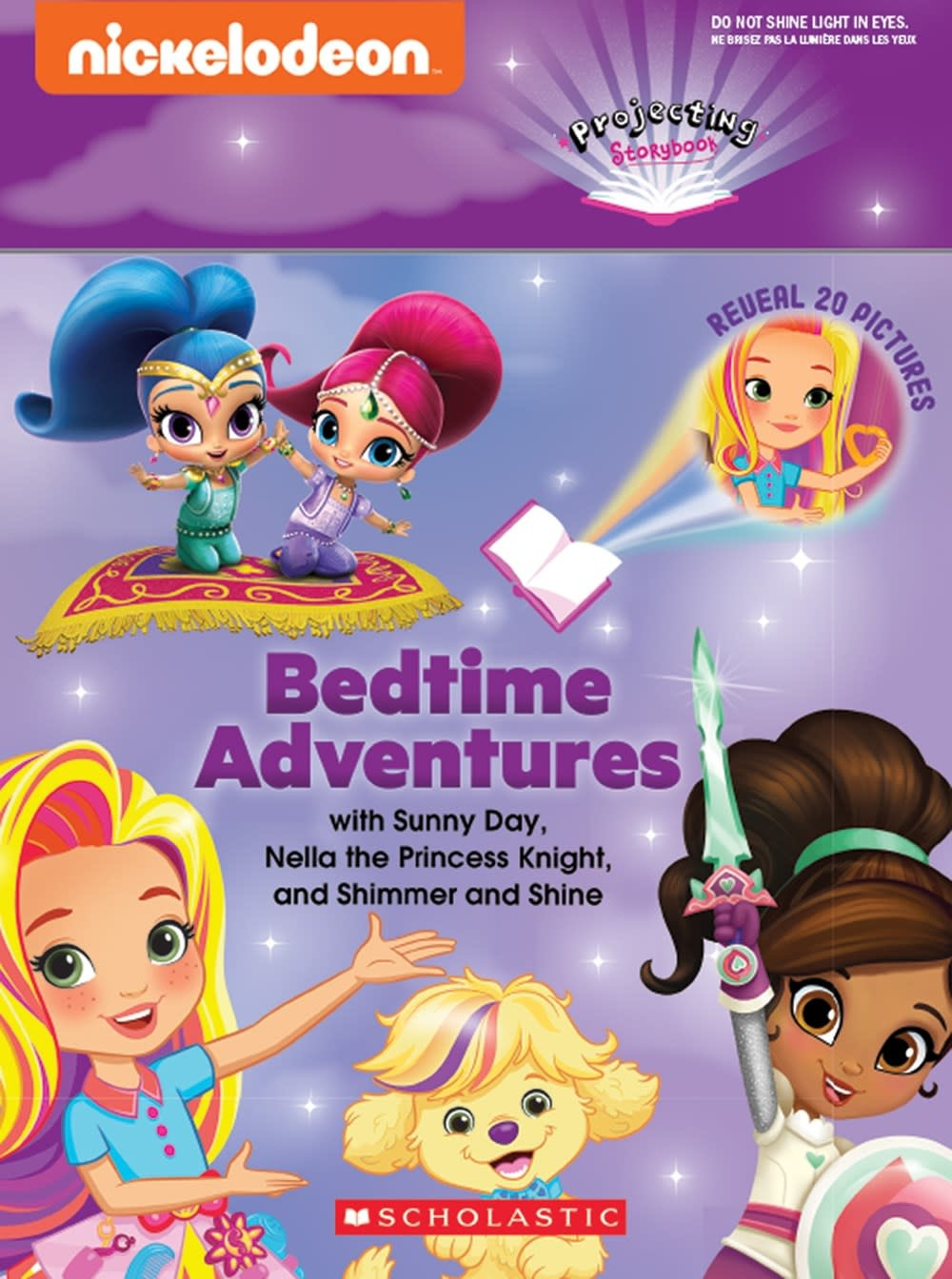 Scholastic Inc. Bedtime Adventures with Sunny Day, Nella the Princess Knight, and Shimmer and Shine
